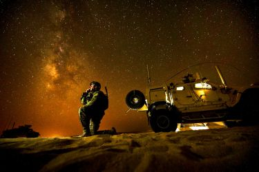 Night Contact by MilitaryPhotos