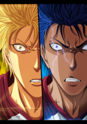 Aomine And Kise Extra Game by HataShi24