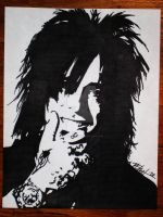 Nikki Sixx by nikki6strings