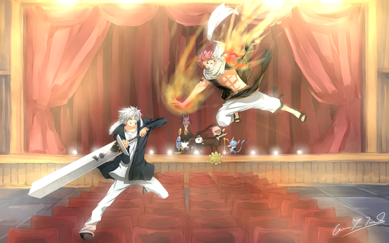FAIRYTAIL VS RAVE by Shumijin