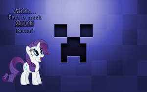 Purple Creepers please Rarity. by BC-Programming