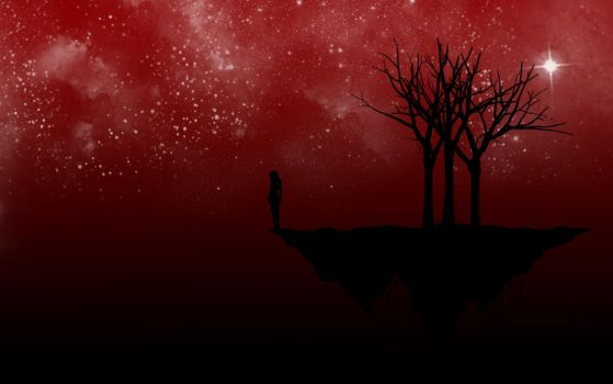 Red Night Vector by Silent-Broken-Wish