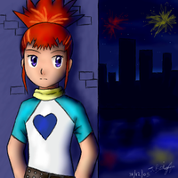 -- Digimon -- Rika - New Years by pdutogepi