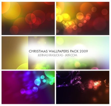 Christmas wallpapers pack 2009 by JK89