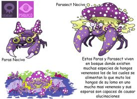 Pokemon Variante-(019) Paras-Parasect