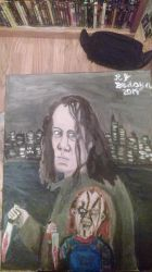 Charles Lee Ray/Chucky by HorrorArtistfromCali