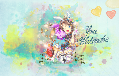 You Watanabe wallpaper by yuiny