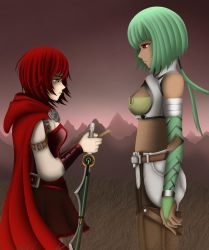 Emerald and Ruby - Absolution by LobbyRinth