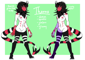 THORNS REFERENCE by soybeansgalore