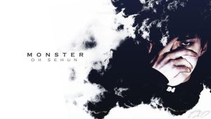 SEHUN|WALLPAPER|MONSTER by EXOEDITIONS