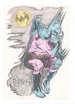 BATMAN 'LE PENSEUR' (The Thinker) by CelsoMF