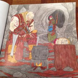 The Witcher Adult Coloring Book: Page 3 by SlugNasty
