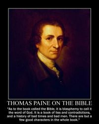 Thomas Paine on the Bible by fiskefyren