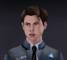 Connor - Detroit: Become Human by kuroakikitsune