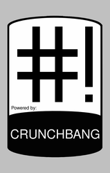 CrunchBang sticker 5 by anonymous-bot