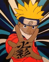 Naruto Duct Tape Art by DuctTapeDesigns