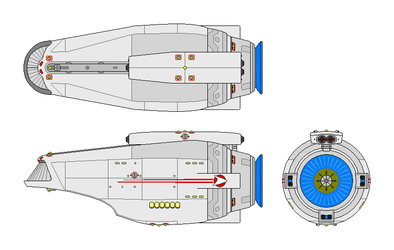 Miniprise Secondary Hull - T2RW Edition V2 by GAT-X139