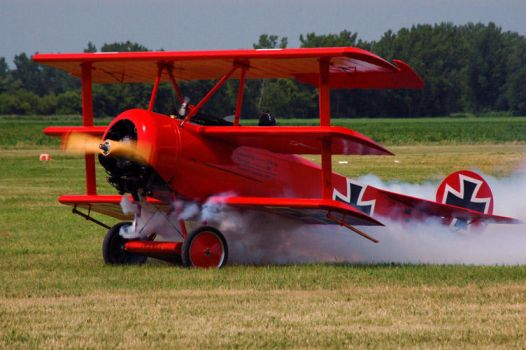 The Red Baron by watch4sharx