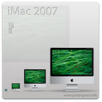 iMac 2007 Icons by jordygreen