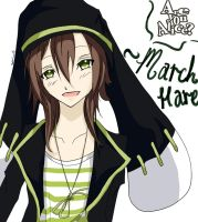 March Hare(Are you alice?) by Darkkitty123
