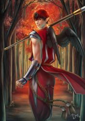 Kurobasu AU - Guardian of the Red Forest by Bayou-Kun