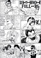 Deathnote Follies by Garth2The2ndPower