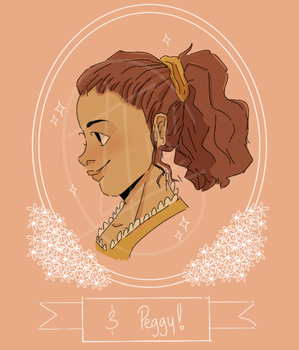 And Peggy by axolotlsketches