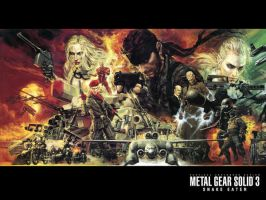 MGS3-Snake Eater by vellonce