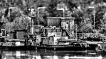 River tug boat by UdoChristmann