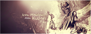 Iron Maiden Killers Signature by alex8546