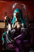 Morrigan Aensland Cosplay by Sbabby