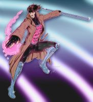 Colored Gambit Drawing by ArtisticSchmidt