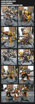 Legion Imperial Fists - Legion Command by VangarShriek