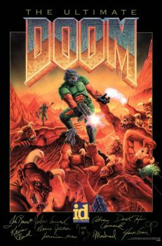 Doom _ poster by zxchriszx