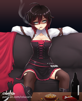 Ruby Rose, but she's just fucking done 3 by CSLucaris