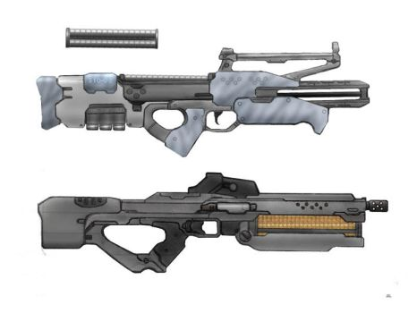 Hi Tech Assault Rifles by OutFoxedTW