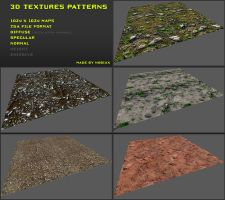 Free 3D textures pack 20 by Yughues