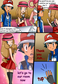 commission 4grandmaster37 Amourshipping Body Swap1 by hikariangelove