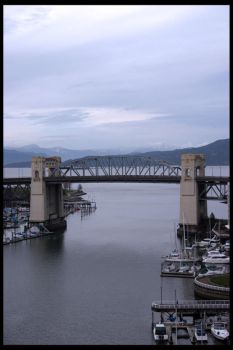 Burrard Street Bridge II by Zenith-XO