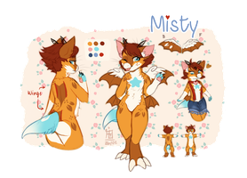 [OC] Misty reference by Feligriffin