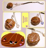 Chocolate Candy Mobile Charms by tedsie