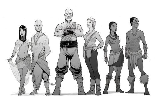 Character Studies by Harpokrates