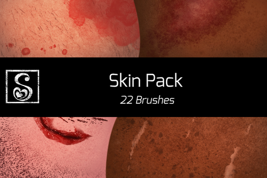 Shrineheart's Skin Pack - 22 Brushes by Shrineheart