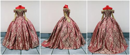 Queen Mary coronation dress commission by lady-narven