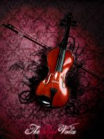 The Red Violin by mike-darkranger