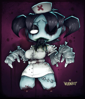 DREAD NURSE by WORMBOYx