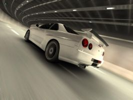 r34 in tunnel by syncore
