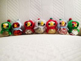 new christmas ornaments by hellohappycrafts