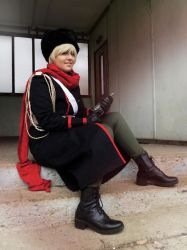 APH Russia Soviet cosplay by HimeKagamine