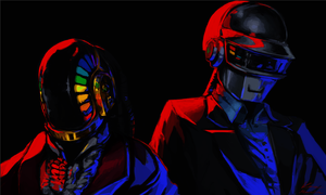 Daft Punk - Discovery Era by Meanira
